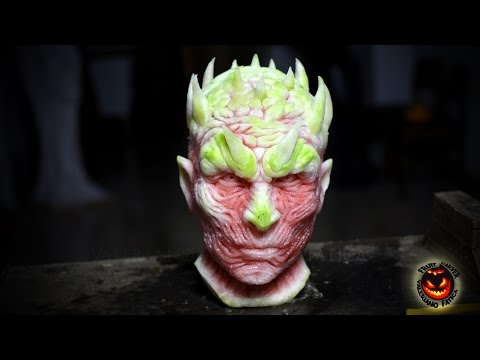 The Night King Watermelon Carving