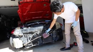 Cold Air Intake Install - Nissan 350z by TJ Hunt