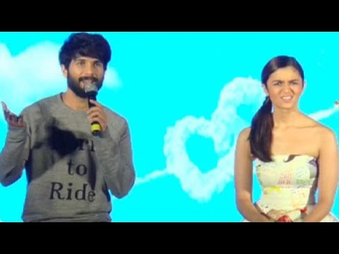 Must Watch: When Shahid Kapoor And Alia Bhatt Pull