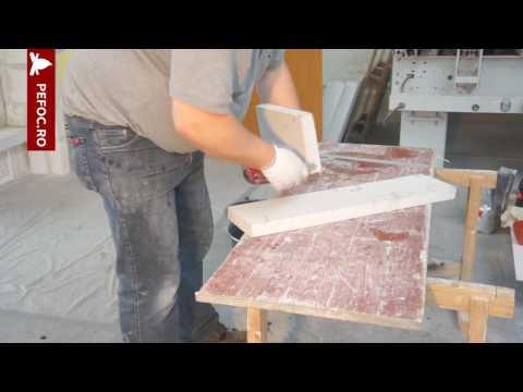 Exemplu montaj Semineu cu placi de Silicat de Calciu