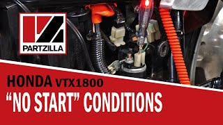 6. Troubleshooting a Motorcycle that Won't Start | Honda VTX 1800 | Partzilla.com
