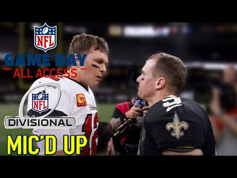 """NFL Divisional Round Mic'd Up! """"They will put a Jordan face on you"""" 