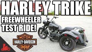 9. Harley-Davidson Trike Freewheeler Test Ride! (2017)