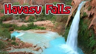 Hiking Havasu falls and Mooney falls August 2013 - YouTube
