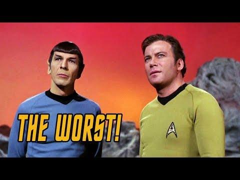 The 5 WORST Episodes of Star Trek: TOS!