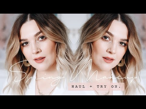 SPRING DRUGSTORE MAKEUP HAUL + FIRST IMPRESSIONS | I Covet Thee