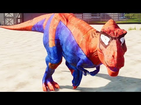 NEW SUPER HERO MOD!!! IRON MAN, SPIDER MAN, WOLVERINE, BATMAN (JURASSIC WORLD EVOLUTION)
