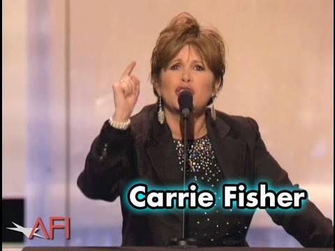 Carrie Fisher to nandala Georgi Lucasovi