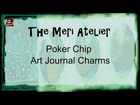 Chipart - Poker Chip Art Journal Charms