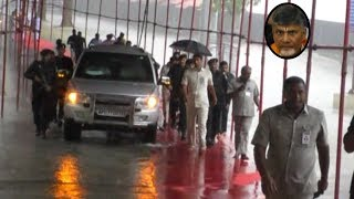 Video CM Chandrababu Naidu Visit Tirumala With High Security | cm chandrababu convoy | Dtv News MP3, 3GP, MP4, WEBM, AVI, FLV September 2018