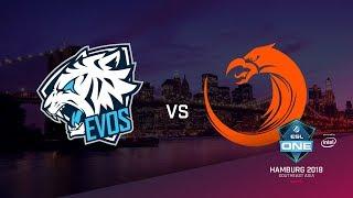 TnC vs EVOS, ESL Closed Quals NA, bo3, game 1 [Adekvat & Lost]