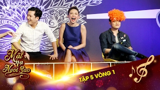 Mặt nạ ngôi sao  Tập 5 vòng 1: Quang Vinh, Tóc Tiên...