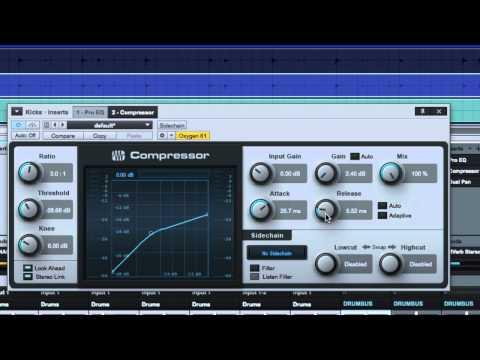 Compressing Kick Drum – The Release/Tone Knob