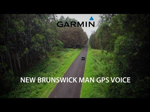 "New Brunswick, Canada's GPS Voice, ""Raymond"""