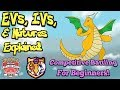 Pokemon IV's, Natures & EV's Explained! Pokemon Tutorial & Explanation!