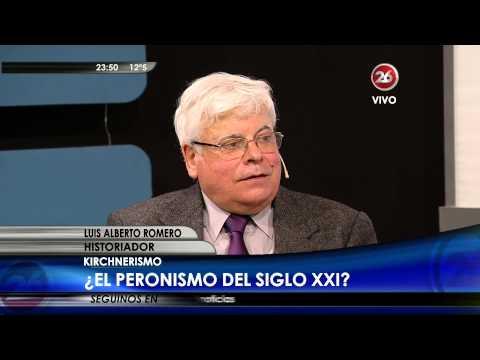 """Luis Alberto Romero en """"Hora Clave"""" – 08/09/2015"""