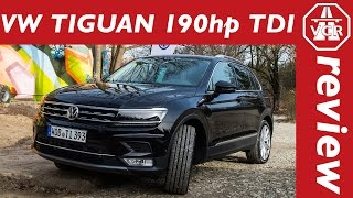 2016 Volkswagen VW Tiguan 2.0 TDI 190hp driving impressions by Video Car Review
