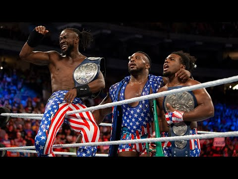 The Usos vs. The New Day - SmackDown Tag Team Championship Match: WWE Battleground 2017