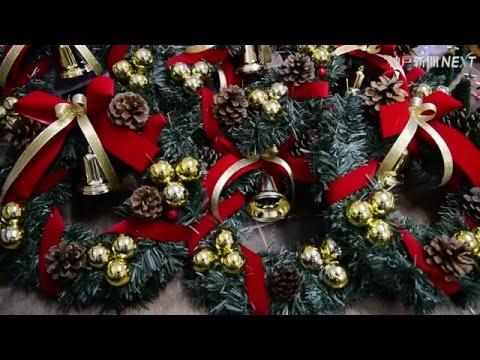 神戸で続くクリスマス用品作り