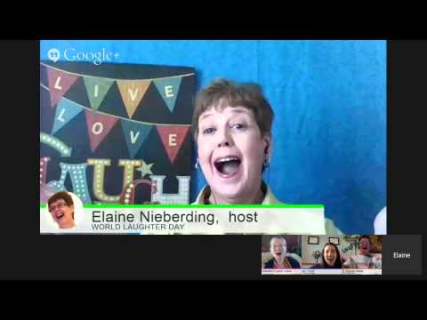 World Laughter Day HANGOUT # 2/3 for Health, Happiness & Peace