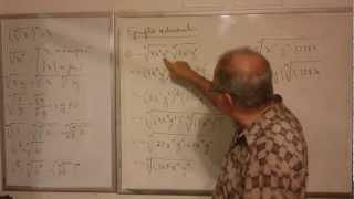 Algebra Intermedia - Lección 6 - A (multiplicación De Radicales Con Diferente índice)
