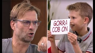 Video Jürgen Klopp learns scouse from a kid | BOSS THA! MP3, 3GP, MP4, WEBM, AVI, FLV Maret 2018