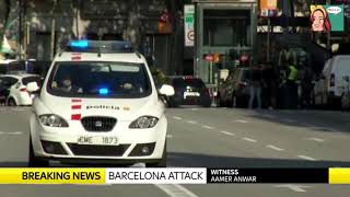 Barcelona terror attack news 17.08.2017 A van has ploughed into crowds on the Ramblas tourist area in Barcelona. Spanish ...