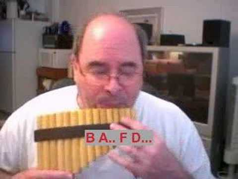 Learning Pan Flute: Unchained Melody / Brad White