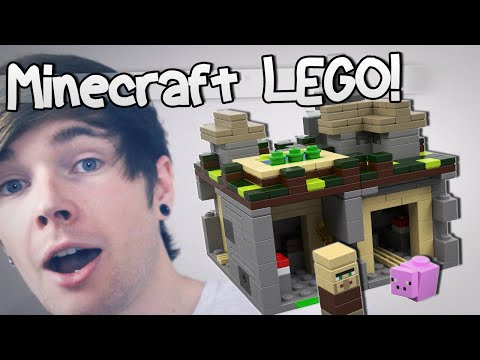LEGO - FOLLOW ME ON TWITTER :: http://www.twitter.com/DiamondMinecart ▻ Subscribe and join TeamTDM! :: http://bit.ly/TxtGm8 Today I open up a very special package which contains a Minecraft Lego...