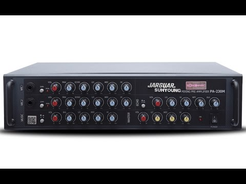 Mixer Jarguar PA-230M chất lượng âm thanh vượt trội