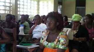 Liberia School Reopening Ebola Awareness Campaign
