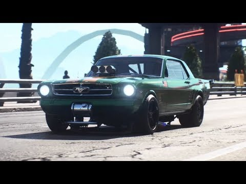 Need For Speed Payback Derelict Car Part Locations Ford Mustang