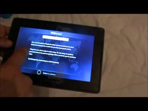 Blackberry Playbook 2.0 (64GB) Unboxing & Review 2012 & 2013