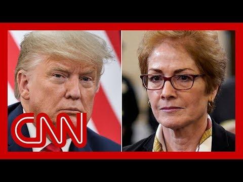 Video - Ακούστε τον Τραμπ να ζητά την απόλυση πρώην πρέσβειρας στην Ουκρανία