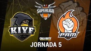 KIYF VS PAM ESPORTS - #SuperligaOrangeCOD5 - Jornada 5 - T12