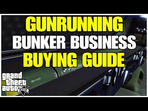 ***GTA ONLINE GUNRUNNING BUNKER BUSINESS BUYING GUIDE***