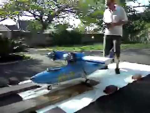 RC WARBIRDS PBY CATALINA GROUND RUNS