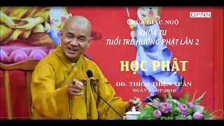 Khóa tu Tuổi trẻ hướng Phật 02 - ĐĐ. Thích Thiện Xuân