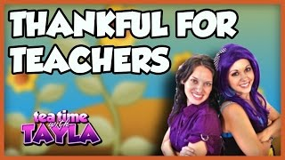 Thanksgiving for kids, Thank You to Teachers