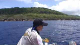 Jingging Popping fishing in Christmas Island PART 2.