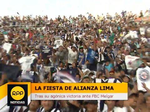 RPP Noticias | Hinchada de Alianza Lima 30/11/2014 - Comando SVR - Alianza Lima