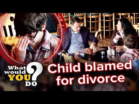 Parents blame kid for their divorce | WWYD?