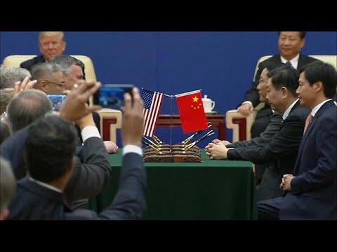 Προς αποκλιμάκωση ο εμπορικός πόλεμος Κίνας-ΗΠΑ