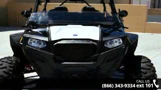 9. 2013 Polaris RZR XP 4 900 EPS Black White and Red LE  - R...