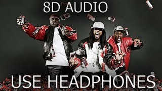 Lil Jon ft  Three 6 Mafia - Act a Fool 8D Audio (Video)