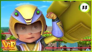 Video Vir: The Robot Boy | Vir Vs Dragoz | Action Show for Kids | 3D cartoons MP3, 3GP, MP4, WEBM, AVI, FLV Januari 2019