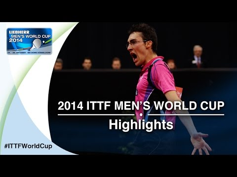 Cup - Review all the highlights from the GIONIS Panagiotis vs MATTENET Adrien Qual Groups first stage table tennis match at the2014 Men's World Cup in Düsseldorf, GERMANY Subscribe here for more...