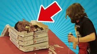 Pizza Kutusundan Çıkan Canavar - Eşek Şakası