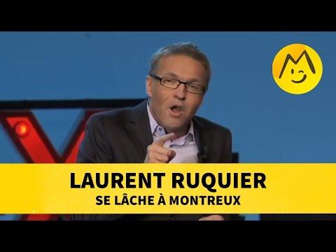 Laurent Ruquier se lâche à Montreux