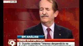 Mário Crespo entrevista SAR o Duque de Bragança (3/3)